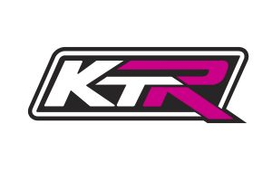 KTR Motorsport Race Logo Black White Magenta